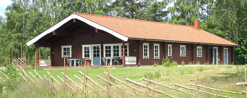 Servicehuset på Värmlands Sjö och Fjäll Camping