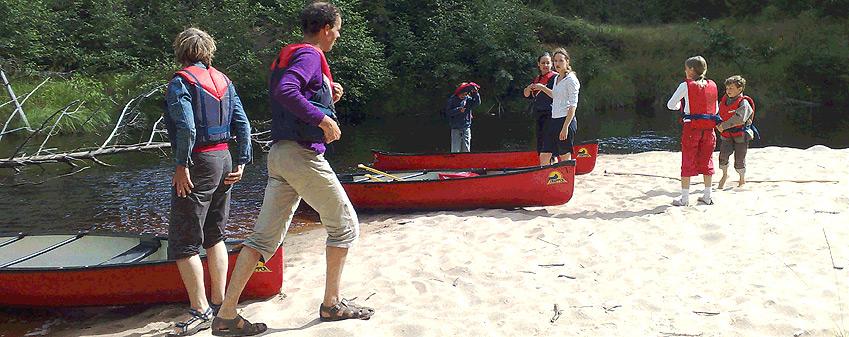 Se och göra - Hyr kanot hos Värmlands Sjö och Fjäll Camping
