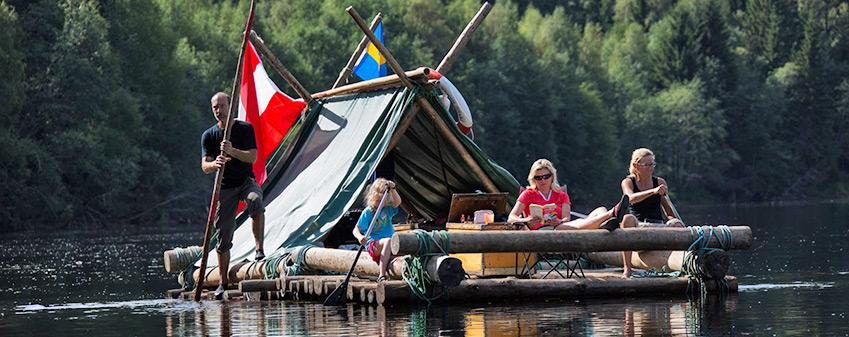 Se och göra - Åk Timmerflotte längs med Klarälven